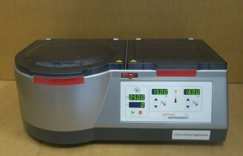 Ortho Clinical Diagnostics Workstation Incubator Centrifuge 2 in 1 Blood Testing